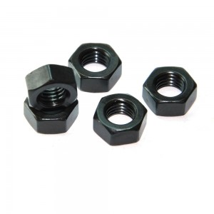 300pcs-100-New-M3-Nut-Hex-Nut-Grade-8-8-Black-Stainless-Carbon-Steel-Thread-Nut